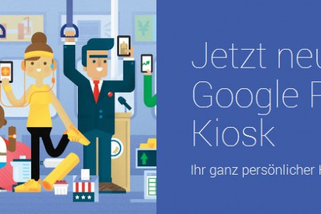 Google Play Kiosk startet in Deutschland mit Magazinen